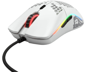 Glorious Model O Gaming Mouse, Matte White (GO-White)
