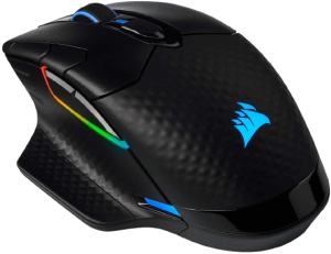 Corsair Dark Core RGB Pro, Wireless FPS/MOBA Gaming Mouse with SLIPSTREAM Technology