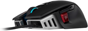 Corsair M65 RGB Elite – Wired FPS and MOBA Gaming Mouse – Adjustable Weight and Balance – Durable Aluminum Frame – 18,000 DPI