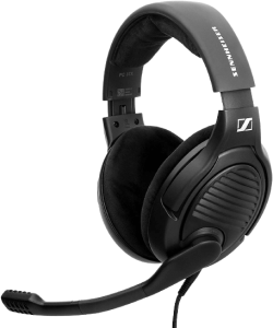 Massdrop x Sennheiser PC37X Gaming Headset — Noise-Cancelling Microphone with Over-Ear Open-Back Design, 10 ft Detachable Cable, and Velour Earpads
