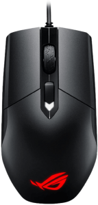 ASUS Ambidextrous Optical Gaming Mouse - ROG Strix Impact   Wired Gaming Mouse for PC   Ergonomic Design, Ultimate Comfort   Non-Slip Grip