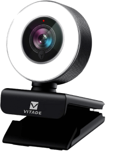 PC Webcam for Streaming HD 1080P, Vitade 960A