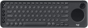 Logitech K600 TV - TV Keyboard with Integrated Touchpad and D-Pad Compatible with Smart TV - Graphite Black