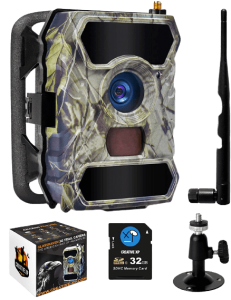 CREATIVE XP 3G Cellular Trail Cameras – Outdoor WiFi Full HD Wild Game Camera with Night Vision for Deer Hunting