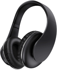 Wireless TV Headphones - Jelly Comb Over Ear Headsets with 2.4GHz RF Transmitter